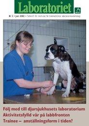 Följ med till djursjukhusets laboratorium Aktivitetsfylld vår på ...