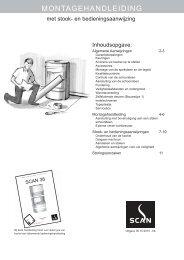 Installatiehandleiding Scan Andersen 8-2 - UwKachel
