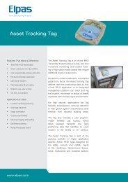 Asset Tracking Tag - Visonic Technologies
