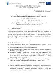 Regulamin rekrutacji i uczestnictwa w projekcie pn ... - Bojszowy