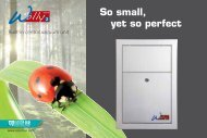 So small, yet so perfect - Sistem Air