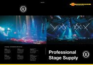Professional Stage Supply - Fyns Kran Udstyr A/S