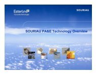 SOURIAU PA&E Technology Overview