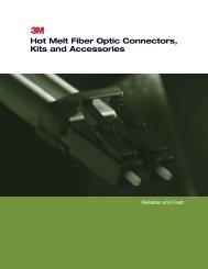 3M Hot Melt Connectors - JM Fiber Optics, Inc.