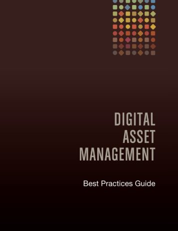 Digital Asset Management Best Practices Guide - DAM Learning ...