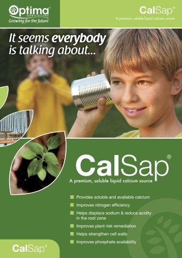 CalSap Brochure.pdf - Optima Agriculture