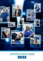 ERIKS - ERIKS Company Profile 2013 (EN)