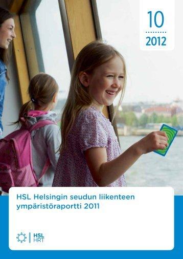 Helsingin seudun ymparistoraportti 2011 - HSL