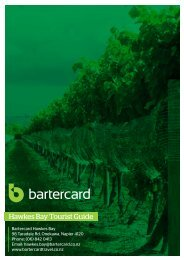 Hawkes Bay - Bartercard Travel