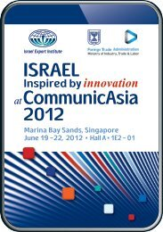 ISRAEL atCommunicAsia