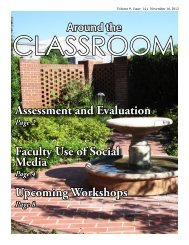 Vol 9 Issue 14 Assessment and Evaluation - Tallahassee ...
