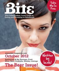 Download October 2012 - Bite Magazine