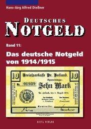 Das Deutsche Notgeld von 1914/1915 - Gietl Verlag