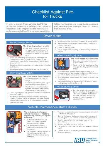 checklist/en_Checklist_Fire_Truck.pdf - IRU