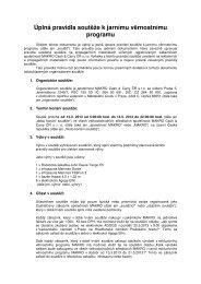 Úplná pravidla soutěže k jarnímu věrnostnímu programu - Makro