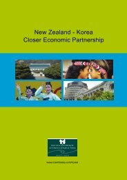 Korea Closer Economic Partnership - New Zealand Ministry of ...
