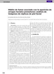 Hábito de fumar asociado con la aparición de arrugas faciales ...