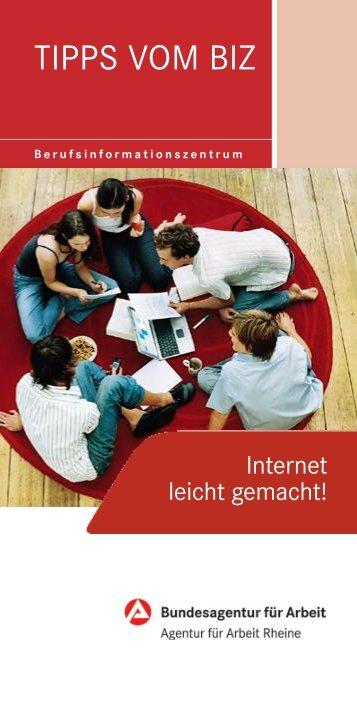 TIPPS VOM BIZ - Fürstenberg-Realschule-Recke