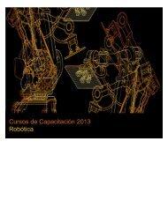 Cursos de Capacitación 2013 Robótica - ABB