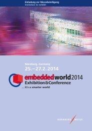 Nürnberg, Germany - embedded world