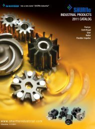 316 Stainless Steel, Bronze and Cast Iron Models - SHURflo Industrial