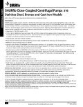 316 Stainless Steel, Bronze and Cast Iron Models - SHURflo Industrial - Page 6