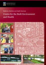 2010 UWA Commuting Survey Vol II Staff Results - The University of ...