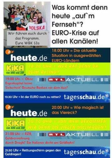 Die Eurokrise - Bawiba.de
