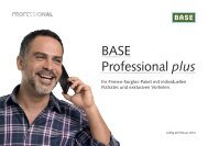 BASE Professional plus - Mein BASE plus