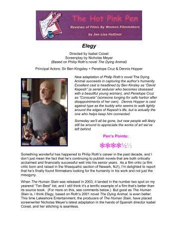 Elegy - Films42