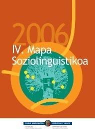 IV. Mapa Soziolinguistikoa - Euskara - Euskadi.net