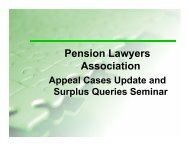 GN 29 - Pension Lawyers Association of South Africa