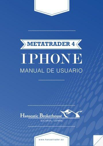 Manual de Metatrader para Iphone. - Hanseatic Brokerhouse