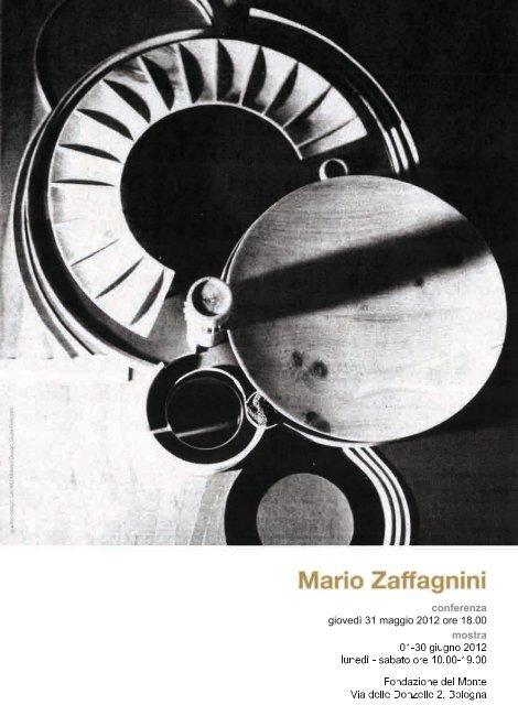 Il profilo di Mario Zaffagnini - Fondazione del Monte