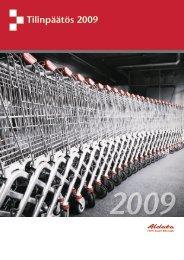 Tilinpäätös 2009 - Aldata