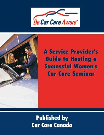 A Service Provider's Guide to Hosting a Successful Women's Car ...