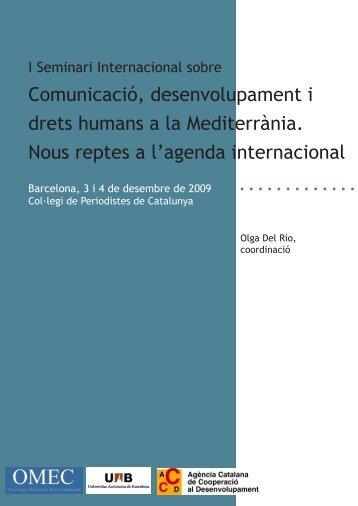Comunicació, desenvolupament i drets humans a la Mediterrània ...
