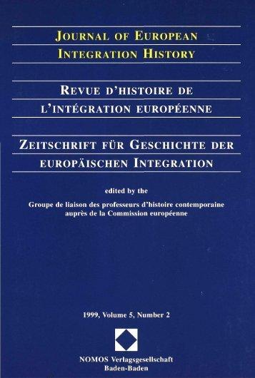 1999, Volume 5, N°2 - Centre d'études et de recherches ...
