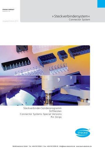 STOCKO Steckverbinder Sonderprogramm - Baum Electronic