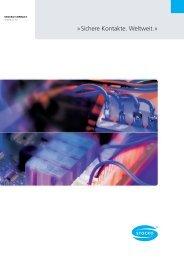 Sichere Kontakte. Weltweit.« - STOCKO CONTACT GmbH & Co. KG