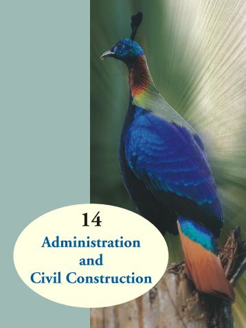 Administration and Civil Construction - Ministry of Environment and ...