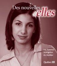 Des nouvelles d'elles - Les femmes Immigrées du Québec