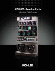 Our advantage is - Kohler Engines