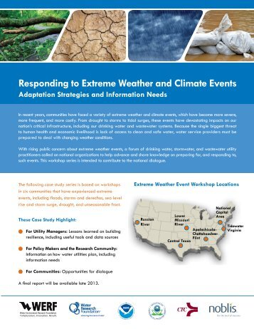 Extreme Weather Fact Sheet Compendium - Climate Program Office