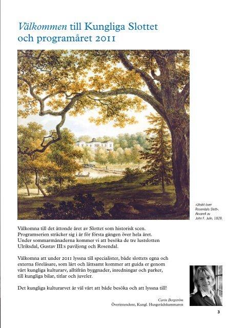 Programmet i pdf-format. Utgivare: Kungliga hovstaterna.