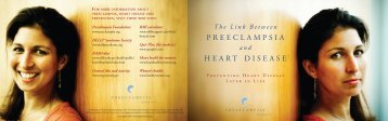 PREECLAMPSIA HEART DISEASE - the Preeclampsia Foundation