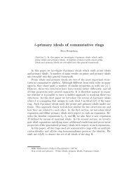 δ-primary ideals of commutative rings - NIE Mathematics ...