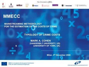 Cost of Crime - Transcrime