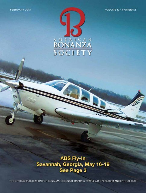 ABS Fly-In Savannah, Georgia, May 16-19 See Page 3 - American ...