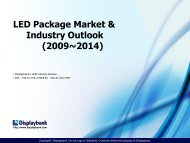 LED Package Market & Industry Outlook